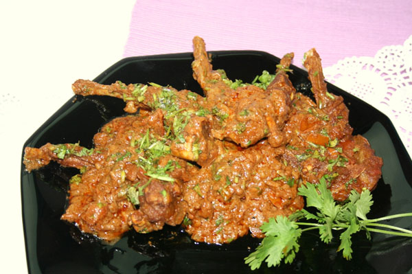 Handi Achaari Chops Recipe