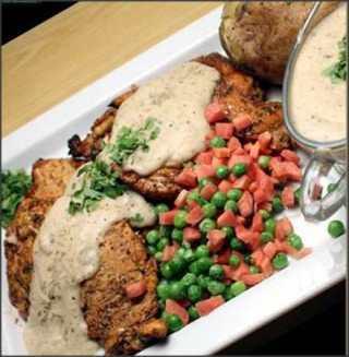 Easy Chicken Pepper Steak