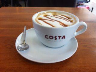 Easy Hot Caramel Coffee