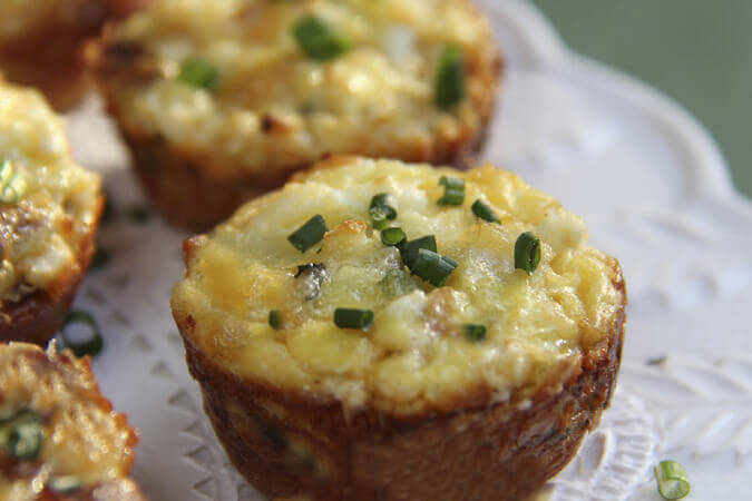 Chicken Bread Muffins