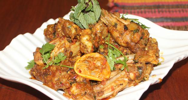 Tawa Chicken Wings Recipe