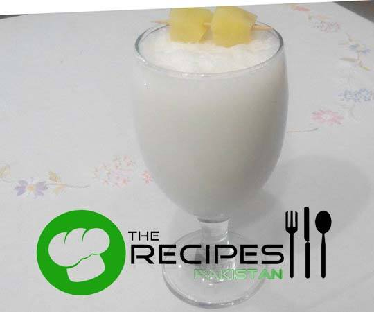 Almond and Pineapple Shake