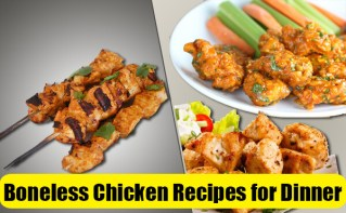 quick boneless chicken recipes for dinner