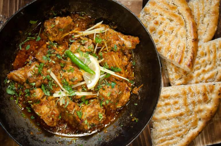 Lahori Chicken Karahi Recipe