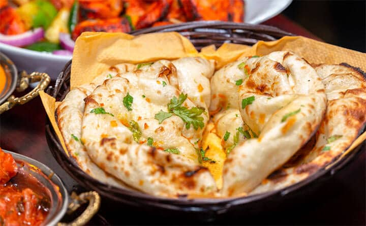 garlic naan without yeast