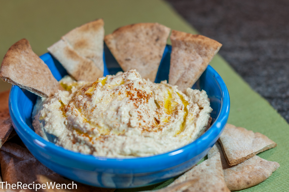 Hummus -- Fast, Easy and Homemade