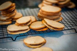 Milano Cookies With Ganache