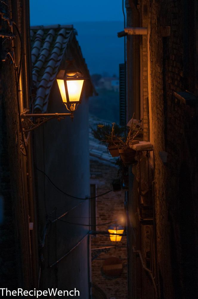 Nightfall in Penne