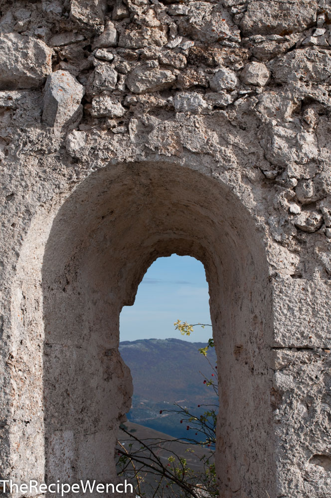 Rocca Calascio fortress window