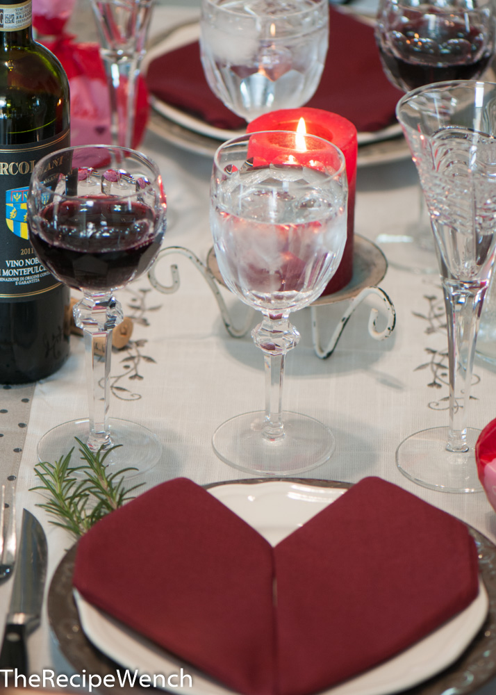 valentines table 1