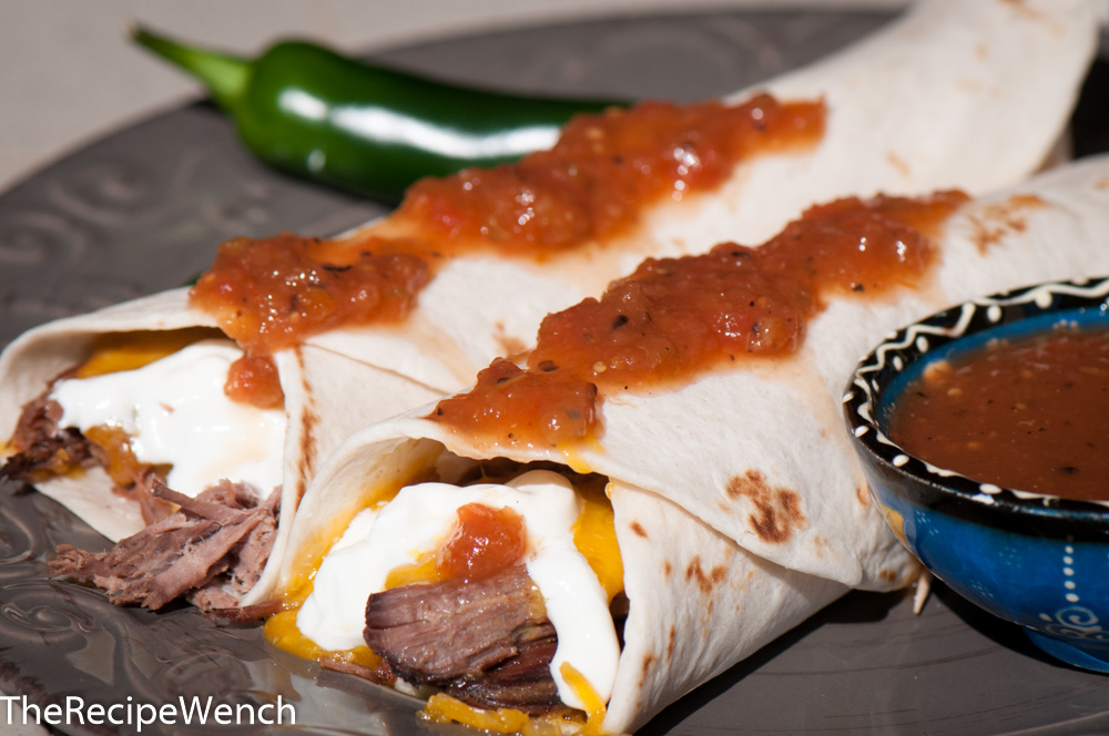 Shredded Beef Burrito