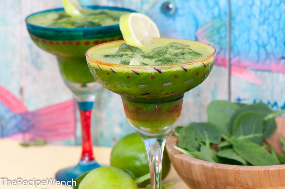 spinach margarita