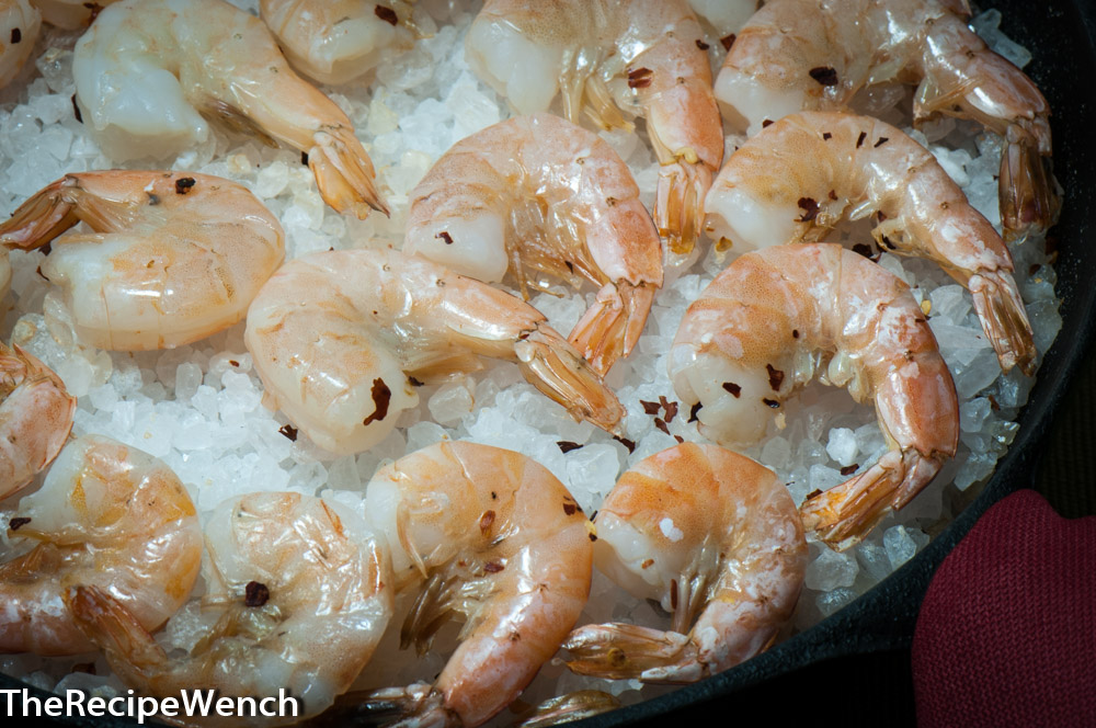 Roasted Shrimp and Lemon-Honey Dipping Sauce