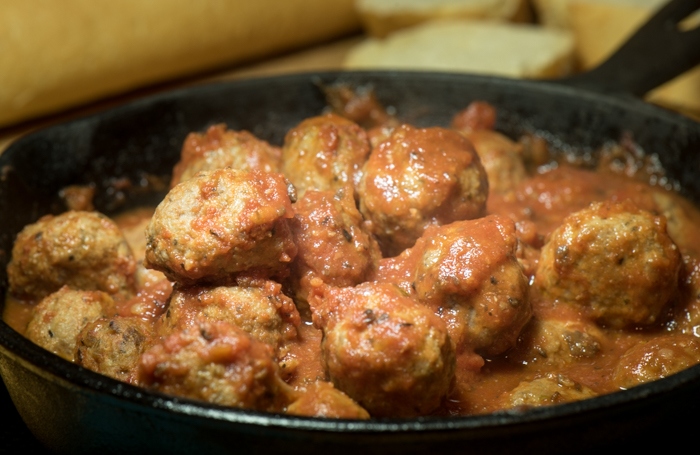 Italian style meatballs - super easy and versatile. Make smaller to serve as appetizers or larger to go into sauce or on a chewy Italian roll with lots of melted mozzarella! | The Recipe Wench