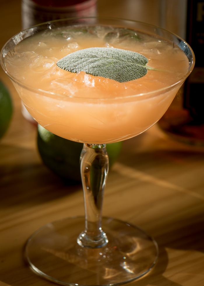 Whiskey Sage Cocktail