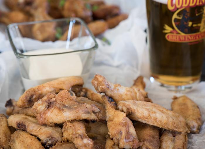 Oven Crispy Chicken Wings