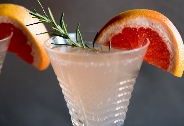 Champagne Grapefruit Cocktail