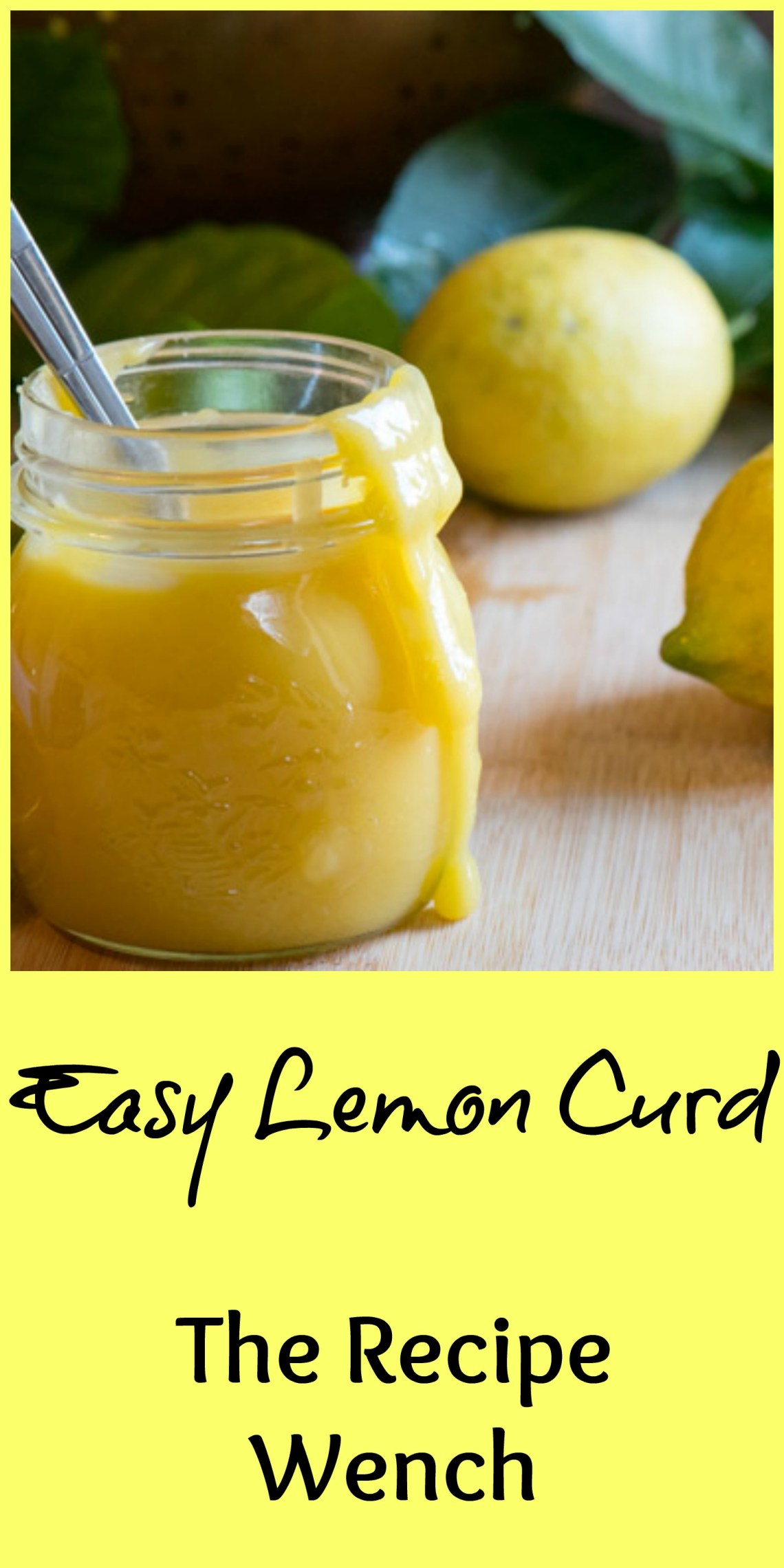 Lemon Curd -- why buy it?! You can make it yourself! A super simple 15 minute evolution. Mostly stirring. This stuff is awesome! | The Recipe Wench
