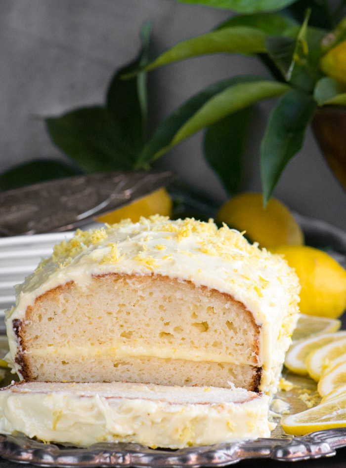 Lemon Loaf Cake 2
