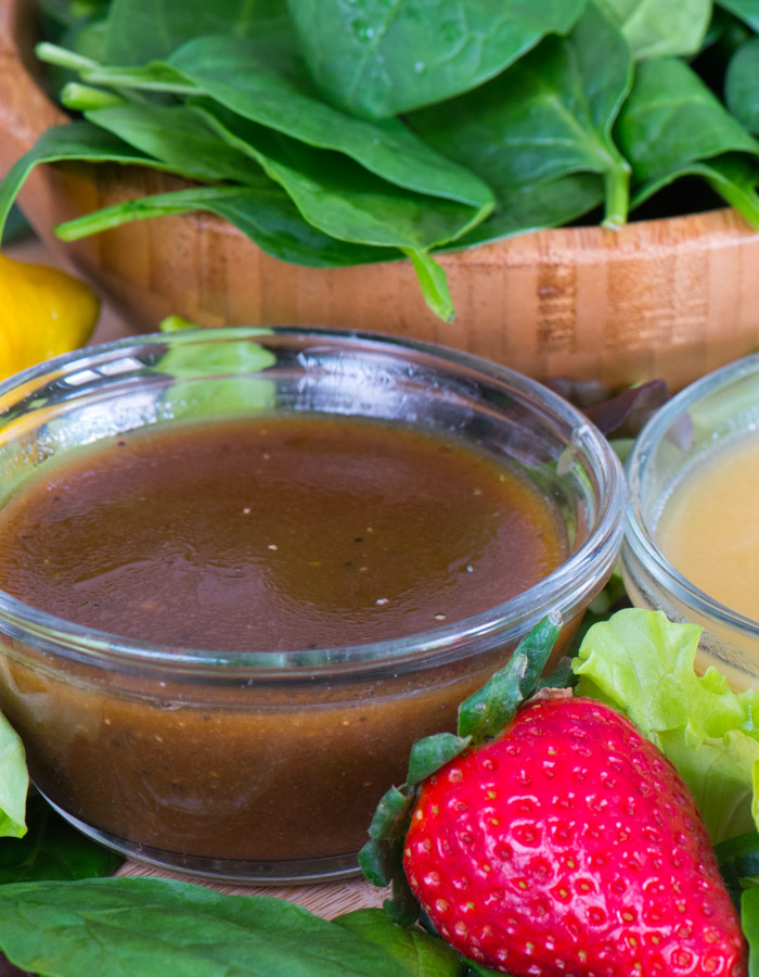 Maple Balsamic Dressing -- 5 minutes to wow!   The Recipe Wench