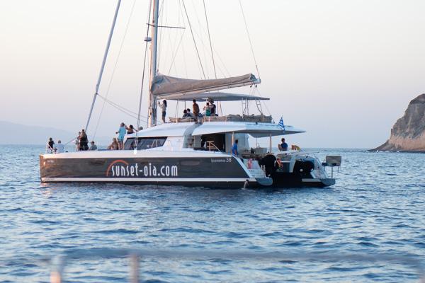 Greece and Santorini - Sunset Dinner Cruise