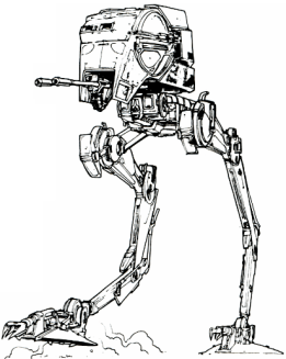 AT-ST from star wars