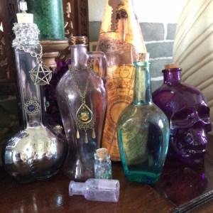 Bottles, Potion, Spell & Altar