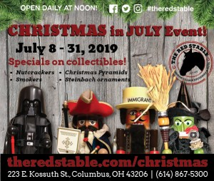 Pre-Holiday Nutcracker Sale @ The Red Stable | Columbus | Ohio | United States