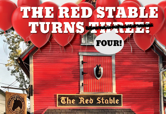 Happy 4th Birthday to The Red Stable!