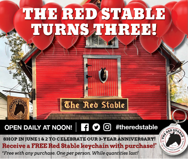 Happy 3rd Birthday to The Red Stable!