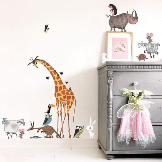 Animal stickers Fiep Westendorp