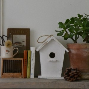 Interior items at The Reed Warbler Shop