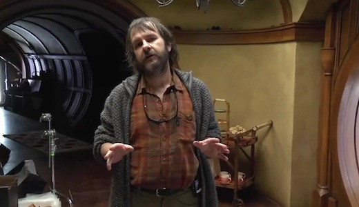 Peter Jackson a Hobbitton