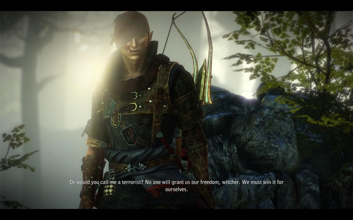 The Witcher 2 Screenshot Wallpaper Iorverth