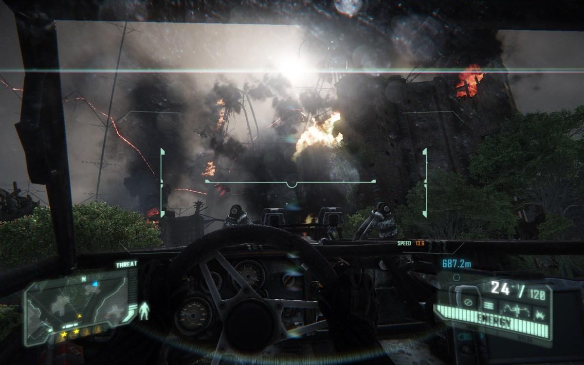 Crysis 3 Screenshot Walpaper Vehicle Section