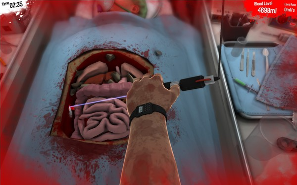 Surgeon Simulator 2013 Screenshot Wallpaper Frickin Lasers