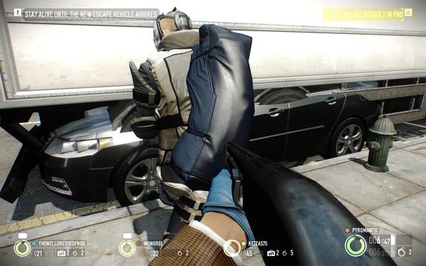 Payday 2 Screenshot Wallpaper Glitched Car