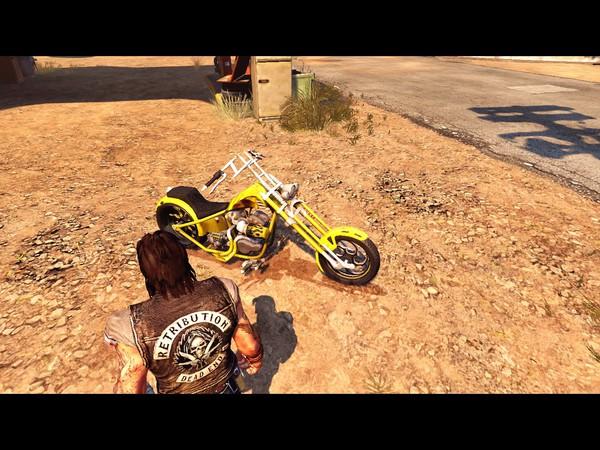 Ride to Hell Retribution Screenshot Wallpaper Customizable Bike
