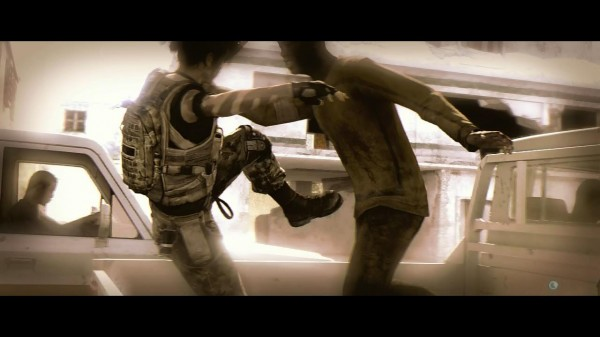Beyond Two Souls  Review Screenshot Wallpaper Quick Time Combat