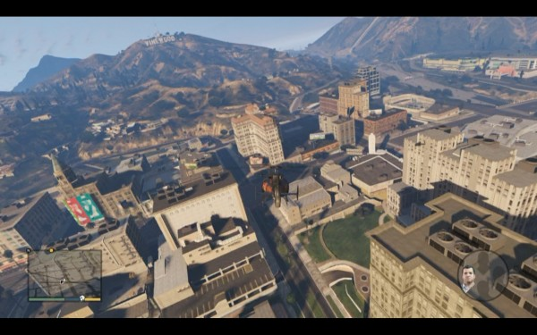 Grand Theft Auto V Screenshot Wallpaper Flying High