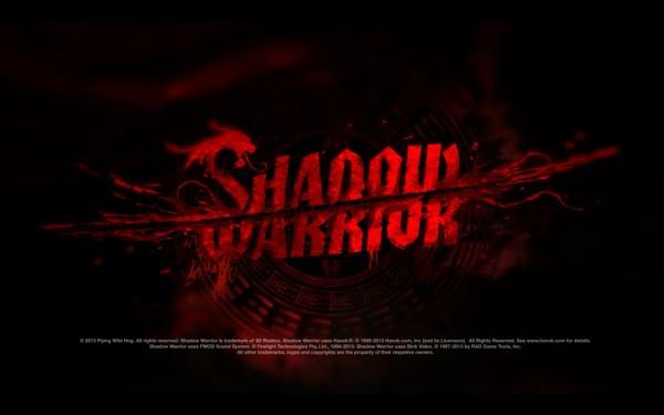 Shadow Warrior Screenshot Wallpaper Title Screen
