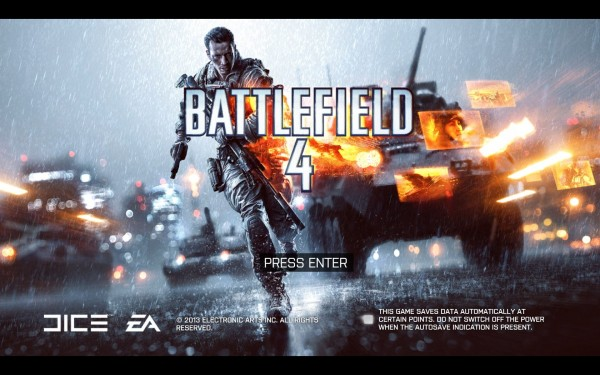 Battlefield 4 Review Screenshot Wallpaper Title Screen