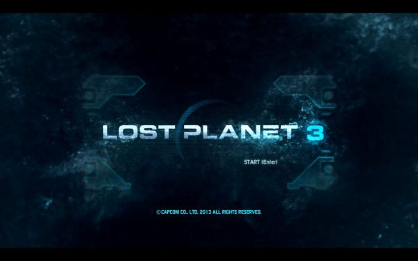 Lost Planet 3 Review Screenshot Wallpaper Title Screen