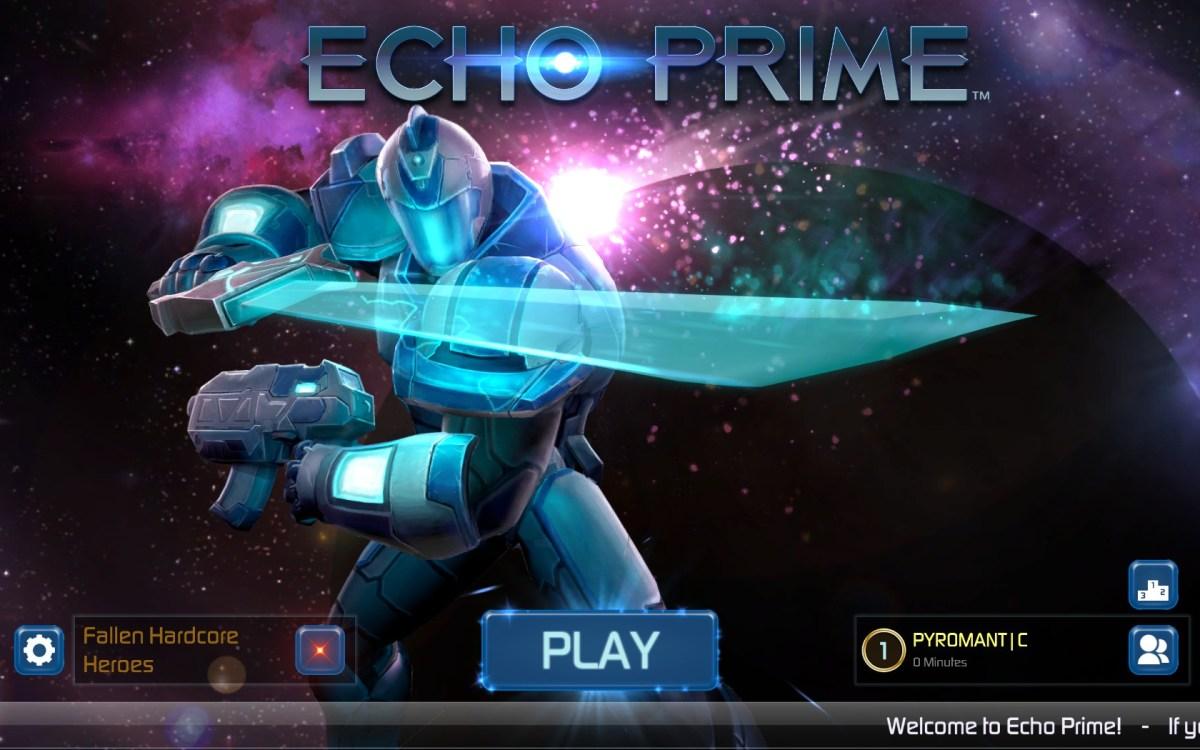 Echo Prime Review Screenshot Wallpaper Title Screen