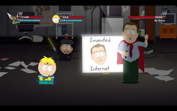 South Park The Stick of Truth Review Screenshot Wallpaper Al Gore