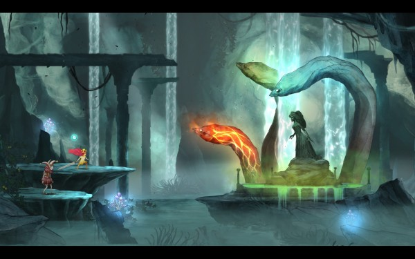 Child of Light Review Screenshot Wallpaper Hail Hydra