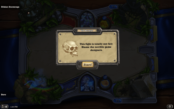 Hearthstone Review Screenshot Wallpaper Terrible Game Designers