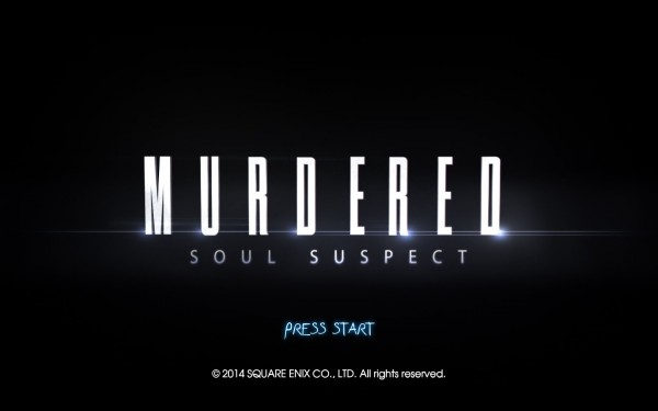 Murdered Soul Suspect Review Screenshot Wallpaper Title Screen