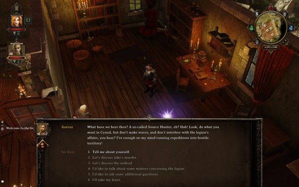 Divinity Original Sin Review Screenshot Wallpaper Wall of Text