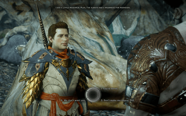 Dragon Age Inquisition Screenshot Wallpaper Dialog